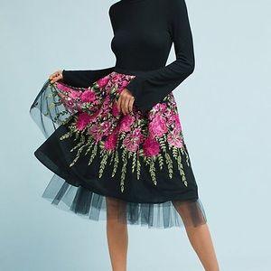 NWT Anthro Eva Franco Garden Party Tulle Skirt
